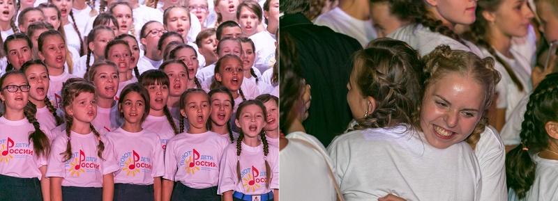 Фестиваль школьных хоров Поют дети России в Артеке