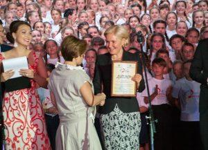 Фестиваль школьных хоров в Артеке - Ольга Голодец