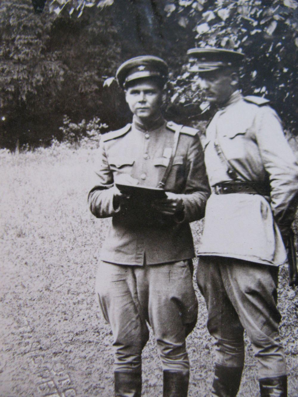 Кярккяйнен Александр Александрович в Чехословакии (лето 1945)