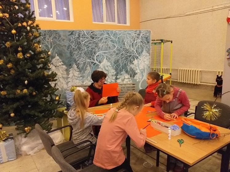 Мастерская Деда Мороза – библиотека Луговая