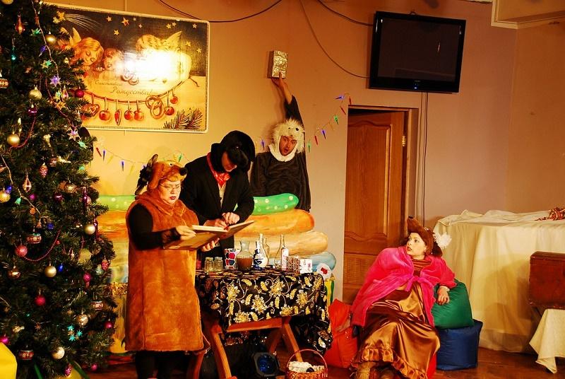 Новый Год в Мелихово - спектакли