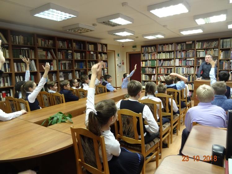 Военно-патриотическая встреча в Детской библиотеке
