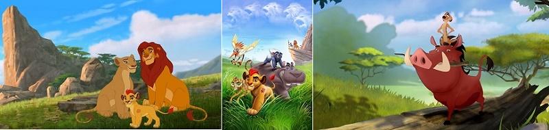 Канал Disney - премьера мультсериала Хранитель Лев