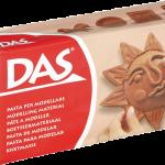 Модельная масса для лепки коричневая DAS/Fila, Италия