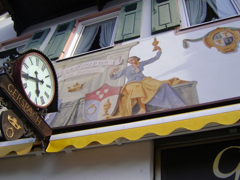 Национальный баварский домик Степа Бачурин