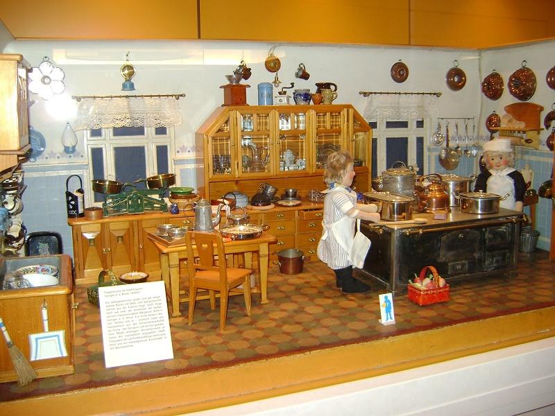 Музей игрушек в Нюрнберге, Германия