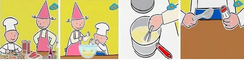 Детские рецепты кулинарии