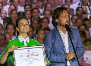 Фестиваль школьных хоров в Артеке - Алексей Каспржак