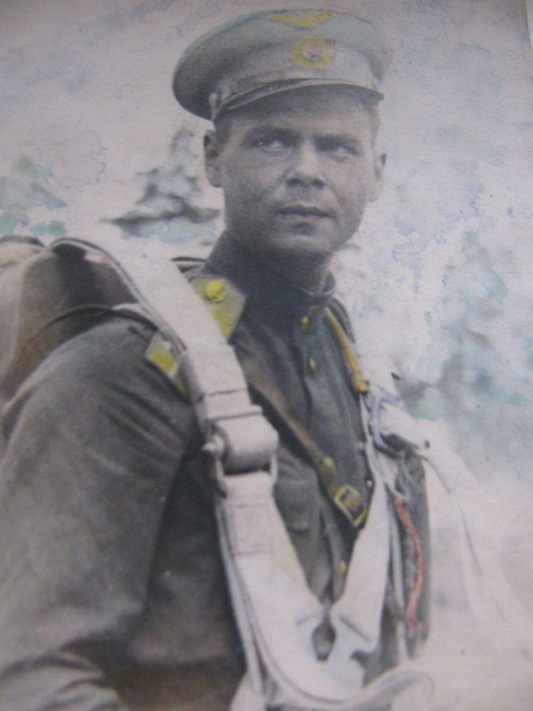 Кярккяйнен Александр Александрович в Белоруссии (1946-47)