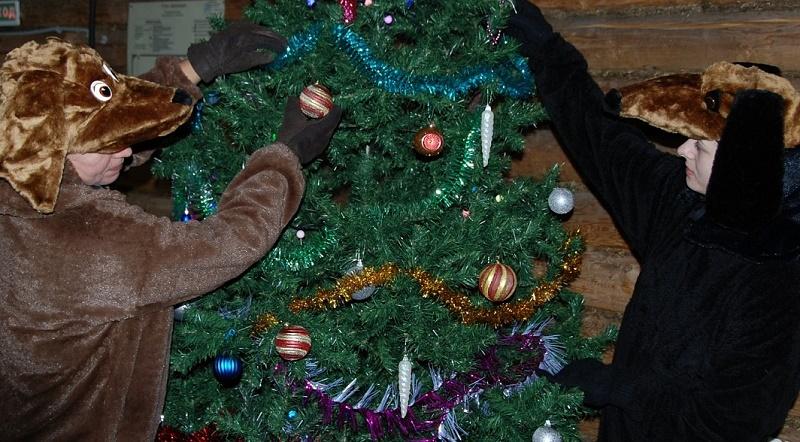 Новый Год для семей с детьми в Мелихово