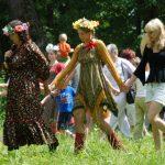 Праздник Троицы Мелихово танцы