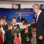Сергей Собянин на открытии Кидзания в Москве