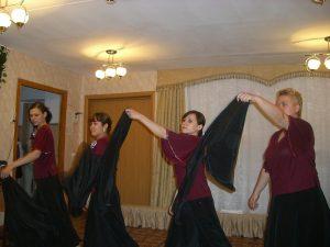 Совместный танец 9 мая