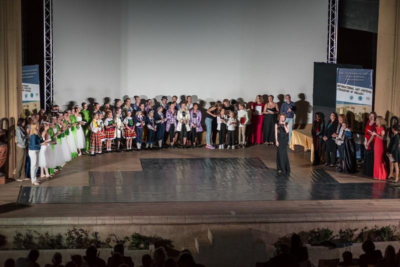 Виктория Рилле - фестиваль Сокровища Эллады-2016, Греция