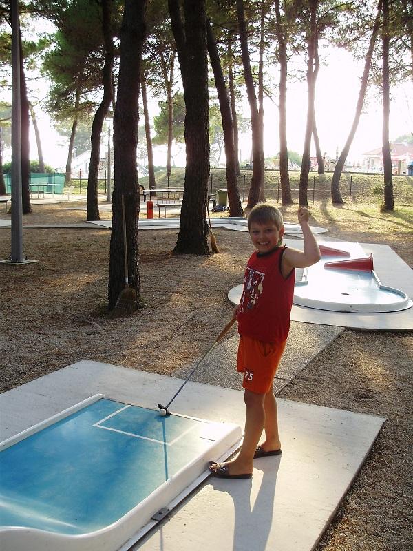 Отдых с детьми в Хорватии Затон